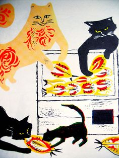 The Cat Thief by Joan Cass Illustration byWilliam Stobbs