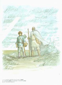 Studio Ghibli, Tales From Earthsea, The Art of Tales From Earthsea, Arren, Ged