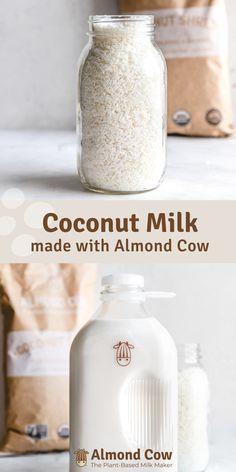 California Pizza Kitchen, Milk Recipes, Vegan Recipes, Cooking Recipes, Healthy Drinks, Healthy Snacks, Healthy Fats, Make Coconut Milk, Toasted Coconut