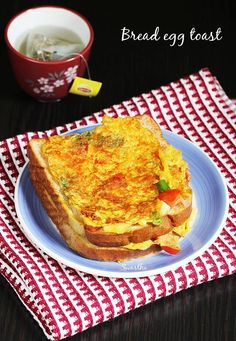 Egg bread toast recipe is quick to make, healthy and tastes delicious. It is one of the most common street foods across India with a few variations