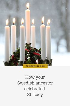 Swedes celebrate Luciadagen, St Lucy's Day on December 13. Read about the origin and the celebrations in the nineteenth century. #sweden #lucia #swedishtraditions #genealogy #christmas