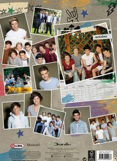 One Direction official 2014 calendar