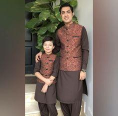 and baby muslim Eid Mubarak❤ Eid Mubarak❤ - Baby Dresses Mother Daughter Dresses Matching, Mother Daughter Fashion, Eid Outfits, Fashion Outfits, Baby Boy Dress, Baby Dresses, Kurtha Designs, Boys Kurta Design, Kids Party Wear Dresses