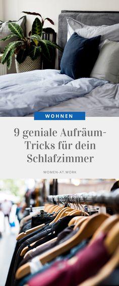 9 geniale Aufräum-Tricks für dein Schlafzimmer mit OTTO