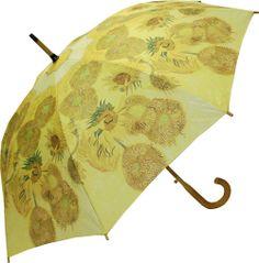 Van Gogh's Sunflowers Umbrella