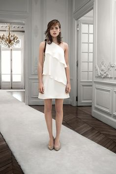 Chloé Pre-Fall 2013 Fashion Show - Rosie Tapner and Anouk Torsing