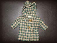 alte Puppenjacke Mantel handgefertigt 50er Jahre für Schildkröt Puppe 41 cm