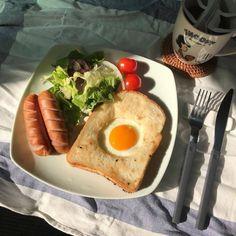 Healthy Breakfast Recipes, Healthy Snacks, Healthy Recipes, Breakfast Ideas, Breakfast Toast, Lunch Snacks, Good Food, Yummy Food, Think Food