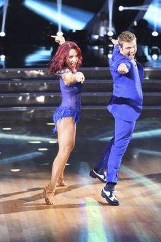 Hey Nick Carter on the season 21 primer of DWTS