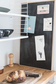 Se, hvordan træ, læder og marmor er mixet til perfektion hos Lill og Morten Inspiration, Design, Kitchen, Marble, Biblical Inspiration, Cooking, Kitchens, Cuisine, Cucina