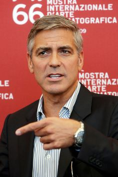 george clooney hair - Google Search