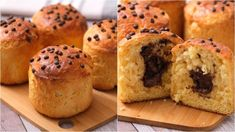 How to make homemade sweet panettone in a can! Italian Panettone, Christmas Log, How To Make Homemade, Bread Rolls, Melted Butter, Quick Easy Meals, Muffin, Ice Cream, Home