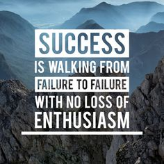 Success Is Walking From Failure With Loss Of Enthusiasm Success Quotes, Life Quotes, Photoshop, Online Earning, Quote Prints, Business Opportunities, Work Hard, Positive Quotes, Online Business