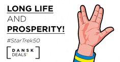 """Long Life and Great #Shopping""? Happy #StarTrek Anniversary!  #StarTrek50 #Nimoy #SciFi"