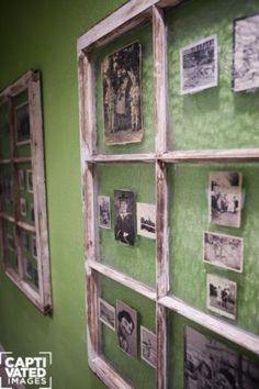 window pane photo frames