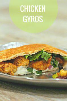 mediterranean diet chicken gyro recipe