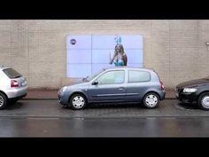 Fiat ajuda motoristas a estacionar com painel interativo