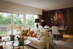 Living Room @ RMZ Galleria Residences.