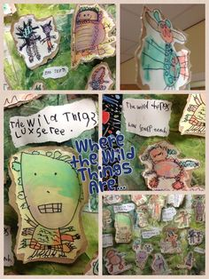 Our Where the Wild Things Are display in my Reception classroom