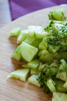 Cucumber Salad with Cumin-Coriander Powder