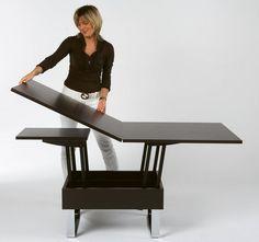table basse relevable zebra pinterest table basse table et mobilier. Black Bedroom Furniture Sets. Home Design Ideas