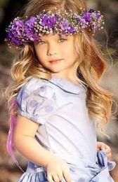 paje - ultraviolet - flower girl - danielafierrowp