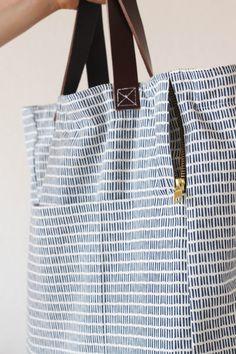 It's Tutorial Time! – Totebag-Rucksack nähen • Seemannsgarn - handmade