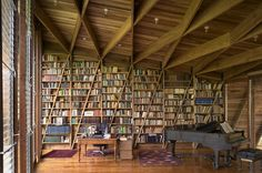 Roof and bookshelf design