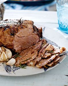 Checkers Winter Roast Recipe: Lemon roasted lamb, with a great South African twist - cooked in a kettle braai! Winter Roast Recipes, Yummy Recipes, Cooking Recipes, Yummy Food, South African Recipes, Allrecipes, Kettle, Lamb, Pork
