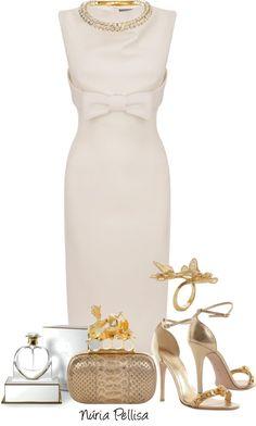 """Alexander McQeen"" by nuria-pellisa-salvado ❤ liked on Polyvore. Vow Renewal dress."