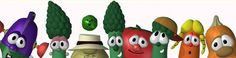 Activities and lessons that go with Veggie Tale episodes!