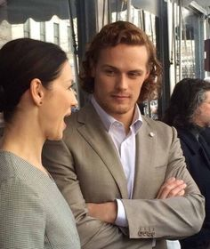 """sassenach-j: """"Find yourself someone who looks at you the way Sam looks at Cait ❤️ """""""