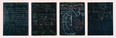 Joseph Beuys 'Four Blackboards', 1972 © DACS, 2016