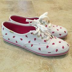 {Sale} {Host Pick 6.10} Kate Spade Ladybug Keds ✨Kate Spade Ladybug Keds NIB✨ kate spade Shoes Flats & Loafers