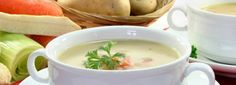 Supa crema de cartofi cu marar