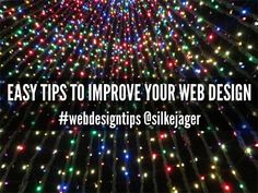 7 Easy Website Design Tips For Your Small Business. Now is the perfect time to take an audit of your website and determine if it's easy to read and navigate. #webdesigntips