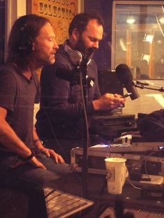 Thom and Nigel on KCRW