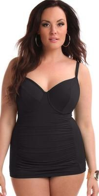 0cf27af28357a The Best Underwire One Piece You Will Ever Own! Description  Sorella Swim®  is designed with the curvy and plus size woman in mind!