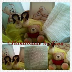 #crochet neutral #baby hamper. Comes #gift wrapped.  £75 exc. p