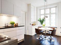 Dining area; lighting