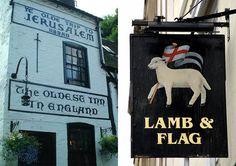 Britain's Colourful Pub Signs