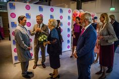 Beatrix bezoekt dansvoorstelling Free to Move.   31-8-2017