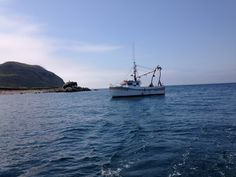 Un bateau de pêcheurs à notre rencontre