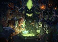 Hearthstone Warlords of Dreanor Fanart by IgorIvArt.deviantart.com on @deviantART