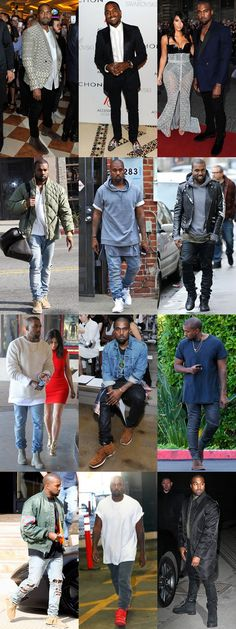 Kanye West Personal Style Lookbook