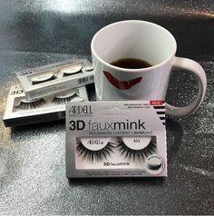 Ardell 3D Faux Mink 853  Βλεφαρίδες Ardell 3D Faux Mink 853. Νέα σειρά από τρίχα MINK με 3D αποτέλεσμα.  Χειροποίητες, στρωματοποιημένες & διασταυρούμενες βλεφαρίδες δημιουργούν ένα πολυδιάστατο αποτέλεσμα. Πολύ φυσική & ελαφριά σας προσφέρει επιπλέον άνεση κατά την εφαρμογή. Lashes, Make Up, Mugs, Tableware, Dinnerware, Eyelashes, Tumblers, Tablewares, Makeup