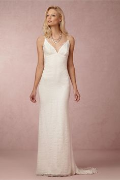 Jamie Gown from BHLDN . $1400, high for my budget, but just lovely. the train is a little much, for the redwoods...