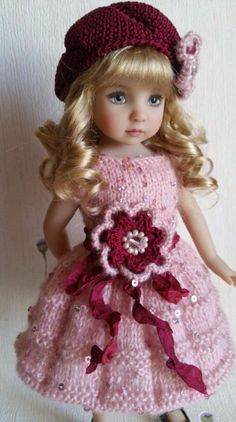 """Outfit for dolls 13"""" Dianna Effner Little Darling. Hand made."""