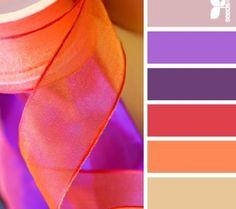 Purple + orange. Always