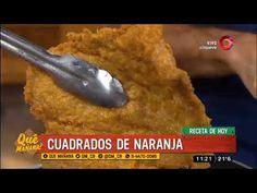 Receta dulce: Cuadrados de naranja
